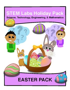 STEM Labs Pack - Easter Spring Projects Pack of 10 Holiday-Themed Projects