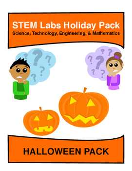 STEM Labs Pack - Halloween Projects Pack of 10 Holiday-Themed Projects