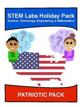 STEM Labs Pack - Patriotic American Projects Pack of 10 Holiday-Themed Projects