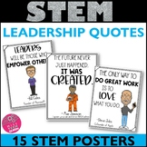 STEM Posters Leadership Quotes
