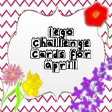 Lego Challenge Cards for April