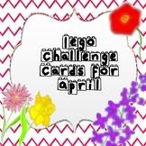 Lego Challenge Cards for April