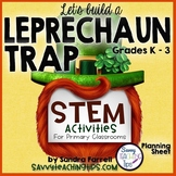 STEM Leprechaun Trap Planning Sheet