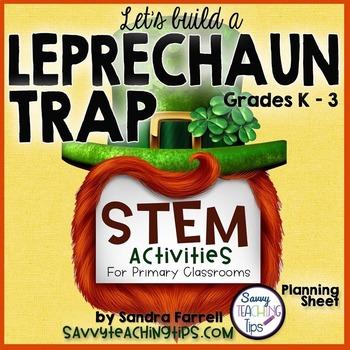 STEM Leprechaun Trap Planning Sheet