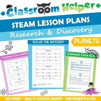 STEM Lesson Plan - Division (Pt. 2 of 2)