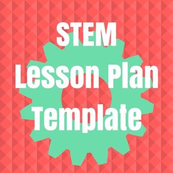 stem lesson plan template pdf