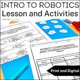 STEM Lesson Resources- Introduction to Robotics Lesson