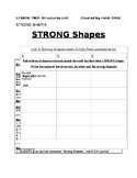 STEM Lesson; STRUCTURES: Strong Shapes