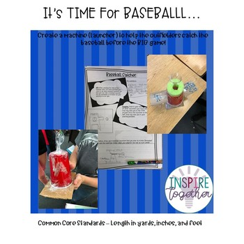 STEM - Lets Play BASEBALL...