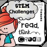 STEM Challenges for Literature Based Makerspace Activities {1st grade Bundle}