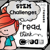 STEM Challenges for Literature Based Makerspace Activities {1st grade Bundle}