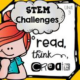 STEM Challenges for Literature Based Makerspace Activities {Unit 3}