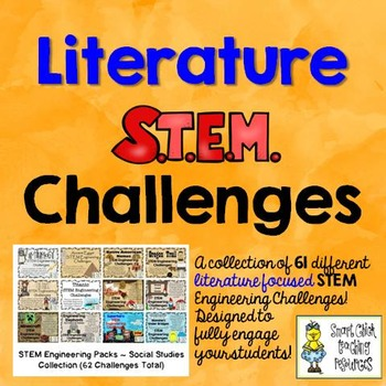 STEM Literature Challenge Pack Collection on  CDs ~61 Tota