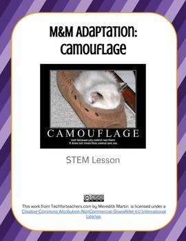 STEM - M&M Adaptation - Camouflage