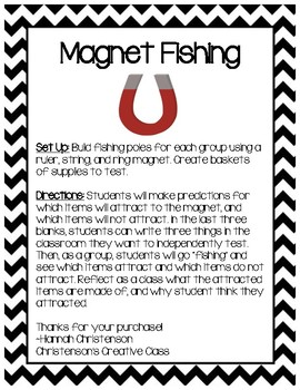 STEM Magnet Fishing