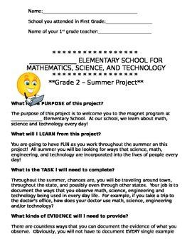 STEM Magnet Summer Project GATE