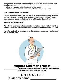 STEM Magnet Summer Project GATE