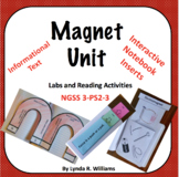 Magnet Unit with Interactive Notebook Flaps and Folds NGSS 3-PS2-3 and 3-PS2-4
