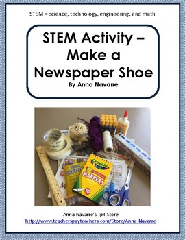STEM - Make a Newspaper Shoe