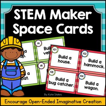 STEM Maker Space Cards