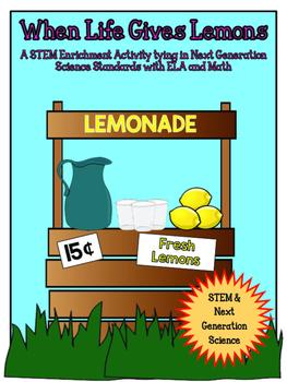 STEM: Making Lemonade CCSS/NGSS