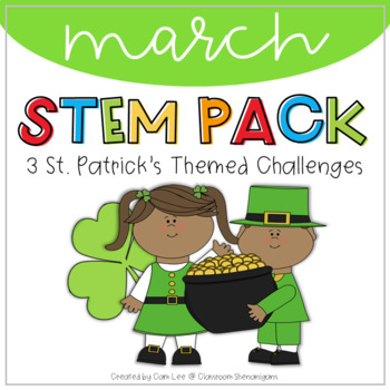 STEM - March St. Patrick's Themed Challenges