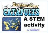 STEM Marshmallow Catapult Activity
