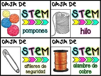 STEM Materials in Spanish