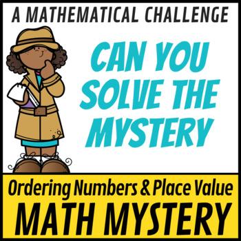 STEM Math Murder Mystery Case#135 A Math Challenge