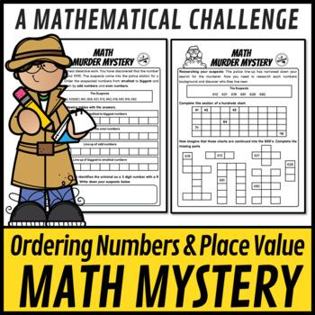 STEM Math Murder Mystery Case#612 A Math Challenge