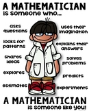STEM Mathematician Poster for Elementary [someone who]