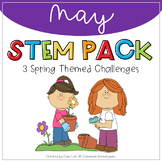 STEM - May Spring Themed Challenges