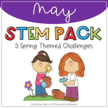 STEM May Spring Theme Pack