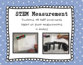 STEM Measurement Activity