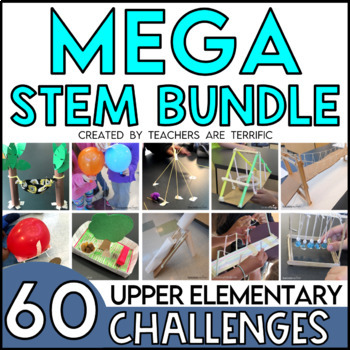 STEM Challenges for the Whole Year Bundle - 60 Challenges