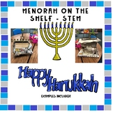 STEM - Menorah on the Shelf!