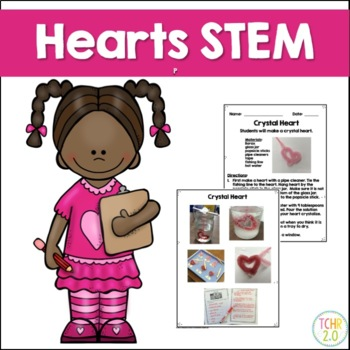 Hearts STEM Valentine's Day