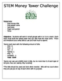 STEM Money Tower Challenge