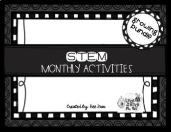 STEM Monthly *GROWING BUNDLE*