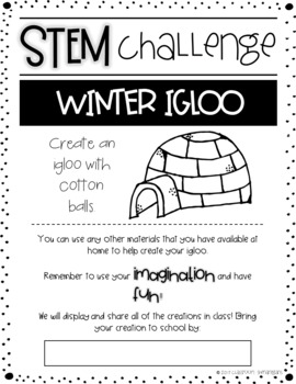 STEM Monthly Home Challenges