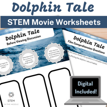 STEM Movie Worksheets - Dolphin Tale (2011)