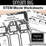 STEM Movie Worksheets - Dream Big: Engineering Our World (2017)