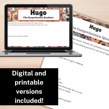 STEM Movie Worksheets - Hugo (2011)
