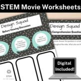 STEM Movie Worksheets - PBS Kids Design Squad (2008)