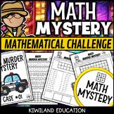 STEM Math Murder Mystery Case#54 A Math Challenge