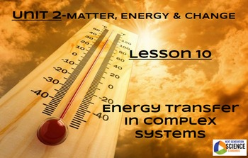 STEM/NGSS Lesson 10 Energy Transfer in Complex Systems