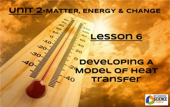 STEM/NGSS Lesson 6: Developing A Model of Heat Transfer
