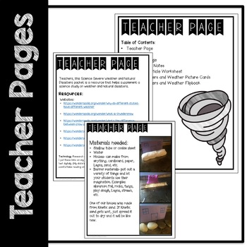 STEM Natural Disasters Science Resources