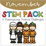 STEM - November Thanksgiving Themed Challenges