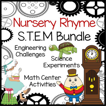 STEM Nursery Rhyme Activities Bundle